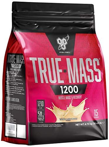 BSN True Mass 1200 Ganador en Polvo, Vainilla - 4730 g
