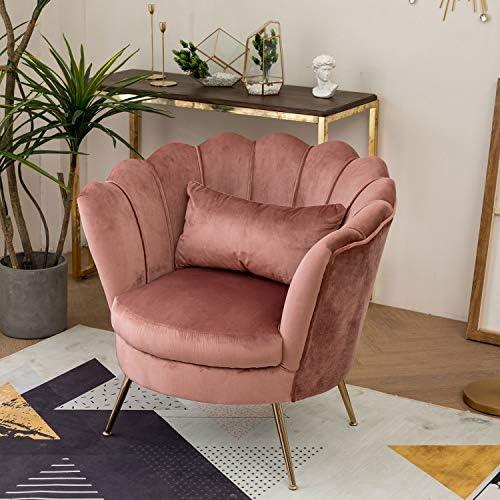 Velvet Accent Chair Vanity Chair