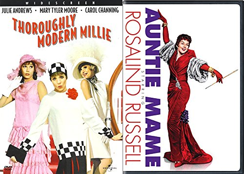 1960's Comedy Classics - Thoroughly Modern Mille & Auntie Mame 2-DVD Double Feature Bundle
