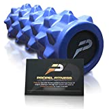 Propel Fitness Bumpy High Density Foam Muscle Roller | For Gym, Yoga, CrossFit, Deep Tissue Massage, Physical Therapy, Triger Point, Myofascial Release & More | Alleviate Back Pain & Improve Stability
