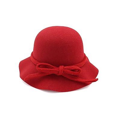 LINSID Ropa-Invierno Otoño Mujeres Hombres Damas Jazz Sombrero ...