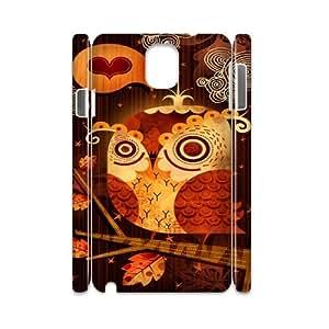 Samsung galaxy note 3 N9000 Goo goo owl 3D Art Print Design Phone Back Case Use Your Own Photo Hard Shell Protection FG074114