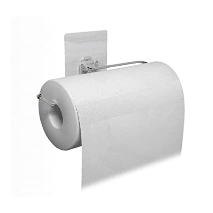 Delicieux Ximeiyangweiyu Self Adhesive 304 Stainless Steel Toilet Paper Holder Storage  Bathroom Kitchen Paper Towel Dispenser
