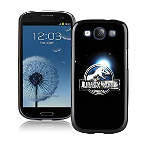 Popular And Unique Custom Designed Case For Samsung Galaxy S3 I9300 With Jurassic World Black Phone Case