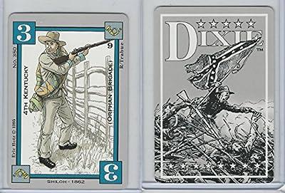 1994 Columbia Games, Dixie Civil War, #350 4th Kentucky, Orphan Brigade