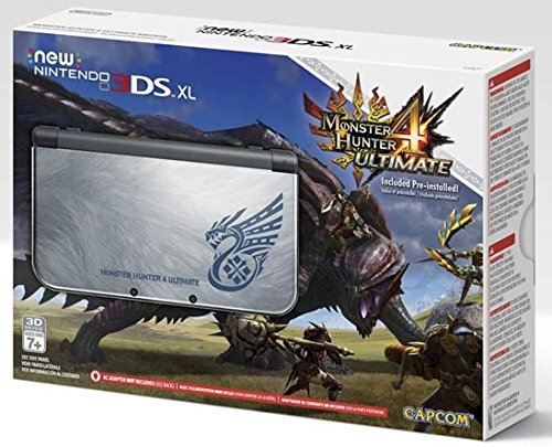 new 3ds xl monster hunter console - 1