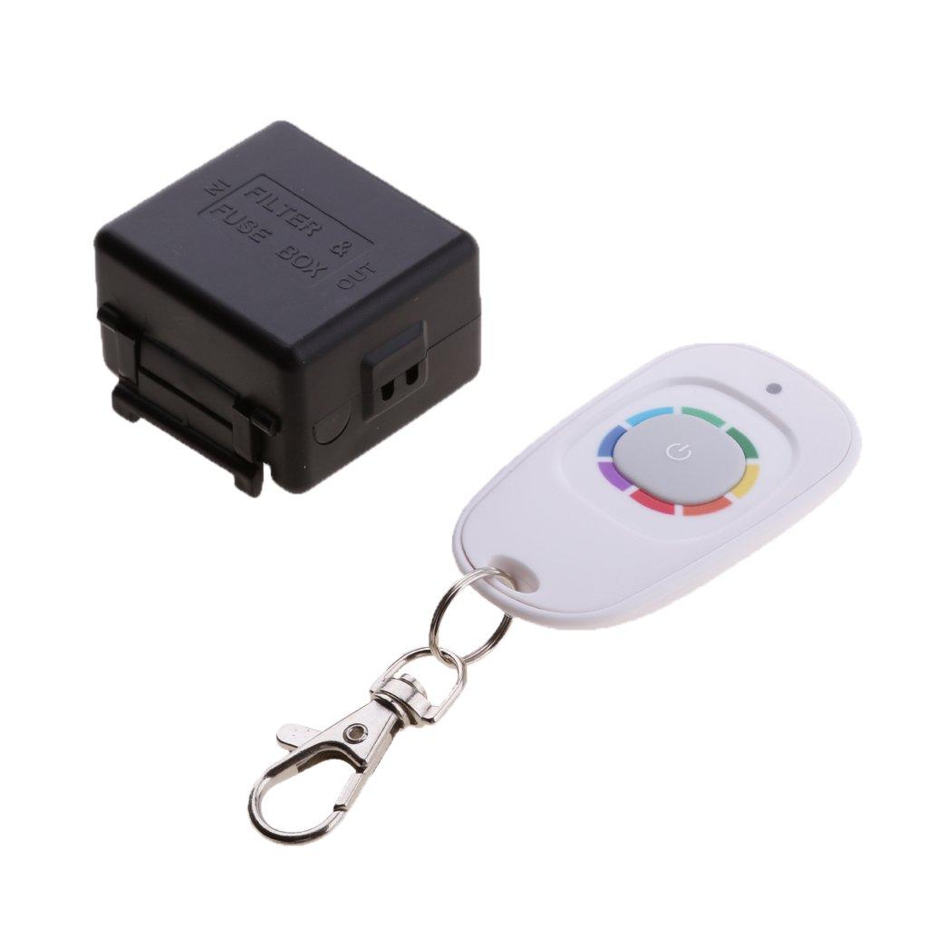 Sharplace Kit 12v RF Commutateur sans Fil Contr/ôle de Loin Relais Module 315mhz R/écepteur D/émetteur