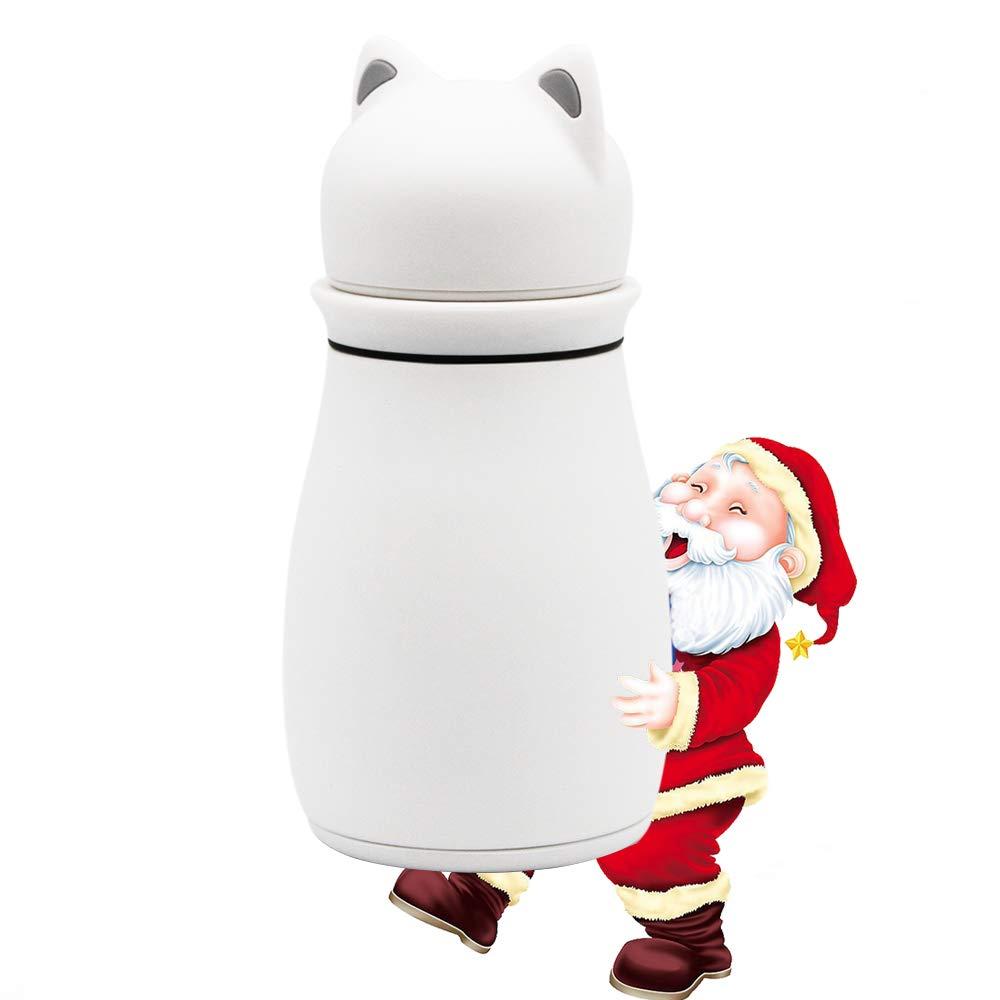 Amazon.com: SENAINS Mini termos, botella de agua de acero ...
