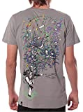 Street Habit Albert Hoffman Psychedelic Top - Festival Tee - Fine Print Cotton T-Shirt for Men in Color Grey - Medium