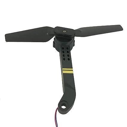 LoveOlvido RC Drone Spare Parts Axis Arms con Motor y hélice para ...