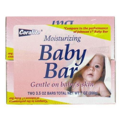 2 Pk Baby Moisturizing Bar Soap 24 pcs sku# 893082MA