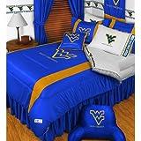 NCAA West Virginia Mountaineers - Comforter Set - Queen and Full Size Bedding