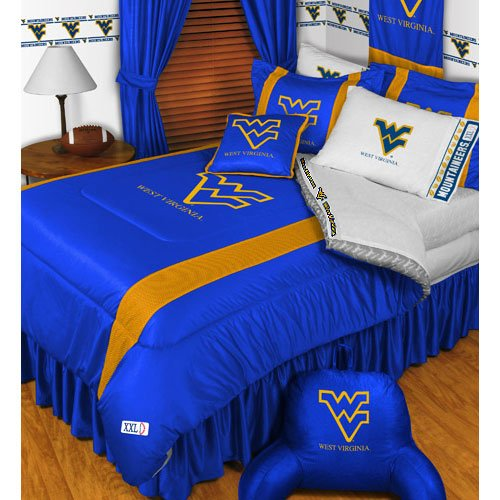 NCAA West Virginia Mountaineers - 5pc BED IN A BAG - Queen Size (Stores In West Virginia)