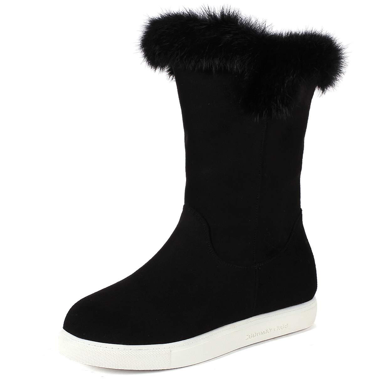 JYshoes , Neige Bottes de Neige B071XD6HY3 Femme , Noir 6e5c492 - piero.space