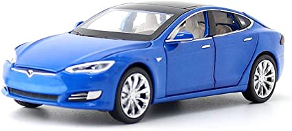 Blue Toy Car Model S Alloy Model Cars Pull Back Vehicles 1//32 Scale Car Toys for Toddlers Kids