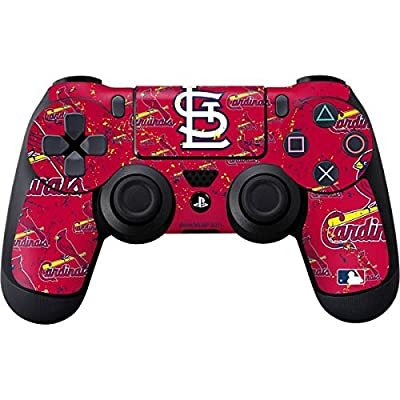 """PS4 Custom UN-MODDED Controller """"Exclusive Design - St. Louis Cardinals - Cap Logo Blast"""" from Rhino Controllers"""