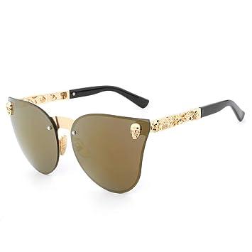 LLLM Gafas de sol Gafas para Mujer Gafas de Sol con Montura ...