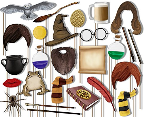 Wizard Castle Photo Booth Props Kit - 26