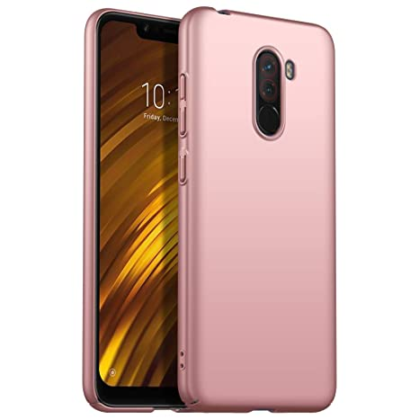 Funda Xiaomi Pocophone F1, Apanphy [Ultra Slim] [PC Duro ...