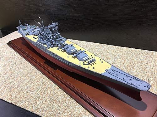 日本海軍戦艦 大和 模型 終焉型? フジミ? 精密 完成品? ケース付 B07S6T8W3B