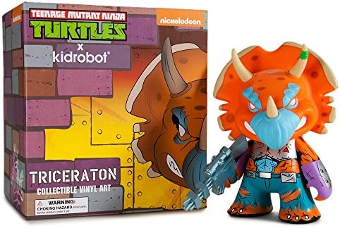Teenage Mutant Ninja Turtle triceraton figura de vinilo ...