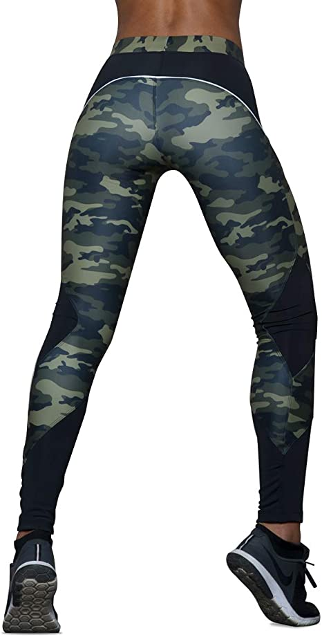 Excess Leggins Mujer Fitness Camouflage Yoga Mallas Deportivo ...