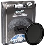 Bower FN52 Variable Neutral Density Filter 52 mm (Black)