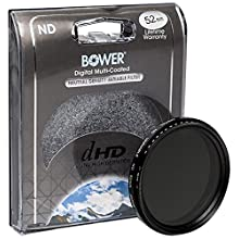 Bower FN52 Variable Neutral Density Filter 52 mm (Black)