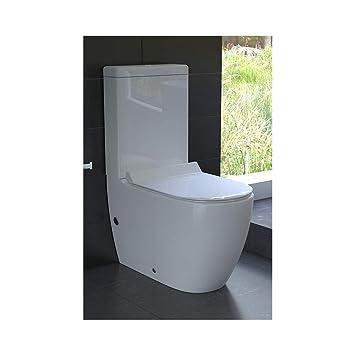 Design Stand Wc Aus Keramik Mit Bidet Taharet Funktion Inkl