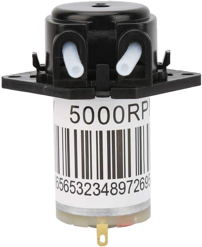 Pangding Bomba de Agua peristáltica silenciosa en Miniatura Titration DC Bomba autocebante 6V(#2)