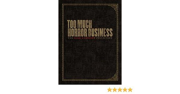 Too Much Horror Business: Amazon.es: Kirk Hammett: Libros en idiomas extranjeros