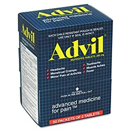 ADVIL TABS 2-PACK POUCH 50