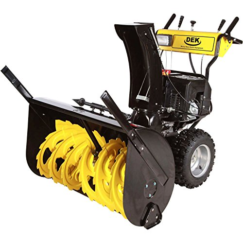 DEK 30SDM15 30'' Commercial 302cc Electric Start 2-Stage Gas Snow Blower, Bonus Drift Cutters and Clean-Out Tool by Dek