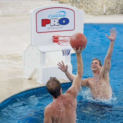 "9195 Super-Wide 44"" Cool Jam Pro Poolside Basketball from Swimline"