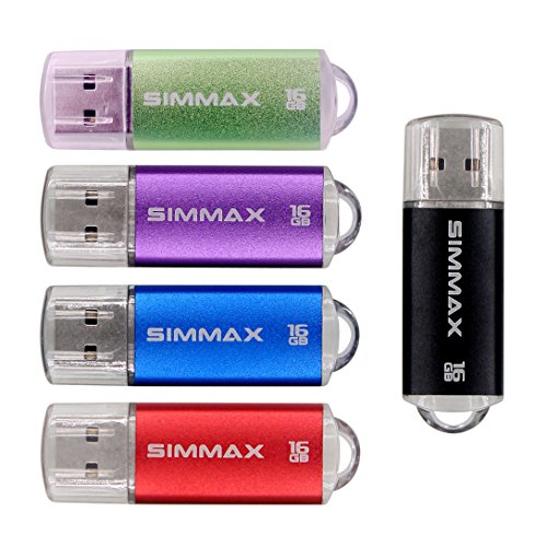 SIMMAX 5pcs 16GB USB Flash Drive U-Disk 16GB - Disk Reader For Xbox One