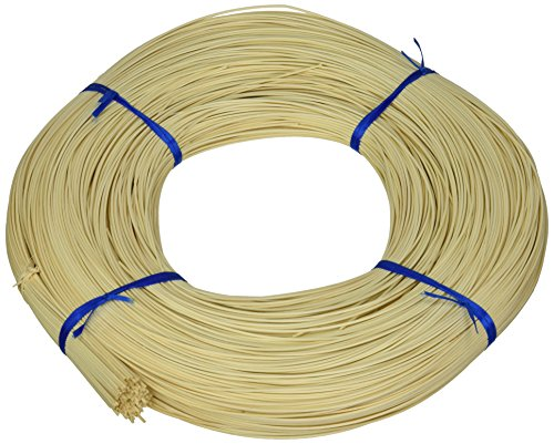 Commonwealth Basket Round Reed #1 1-1/2mm 1-Pound Coil, Approximately, 1600-Feet