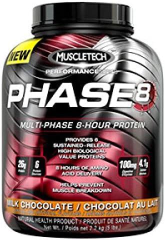 Muscletech Phase 8 - 2,03 kg Vanilla: Amazon.es: Alimentación ...