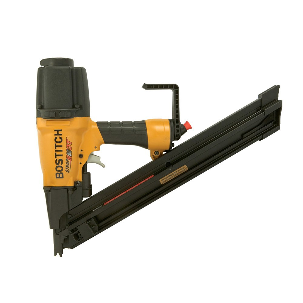 BOSTITCH MCN250 StrapShot Metal Connector Nailer - Power Framing ...
