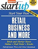 img - for Start Your Own Retail Business And More: Brick-and-Mortar Stores, Online, Mail Order, and Kiosks (Startup Series) by Entrepreneur Press (1-Feb-2011) Paperback book / textbook / text book