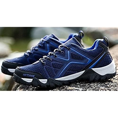 outlet Odema Men's Hiking Shoes Skidproof Walking Sneaker