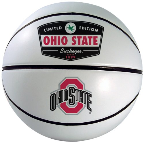 NCAA Ohio State Buckeyes Signature Basketball by Rawlings (Ohio Basketballs State)