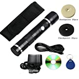 50pcs Checkpoint 125khz Weatherproof Security Guard Patrol Wand RFID Guard Tour Patrol System with LED Lighting
