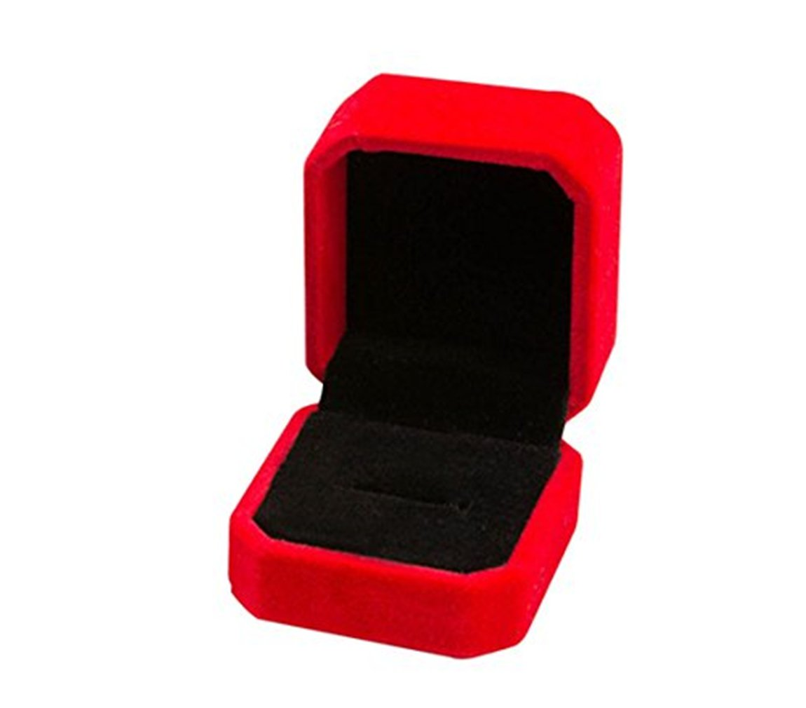 Dosige Etui à Bijoux Boîte à Bijoux en Flanelle Coffrets à Cosmétique Femme Boîte de Rangement de Bijoux - Beige