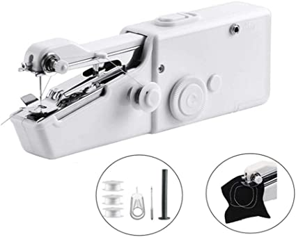 Cordless Handheld Electric Sewing Machine Quick Handy Stitch for Home or Travel use Handheld Sewing Machine