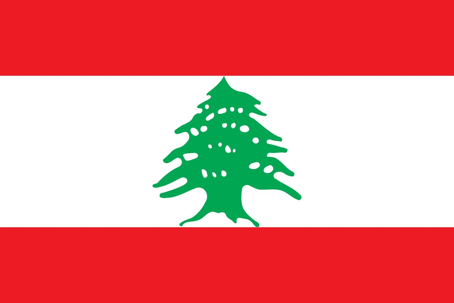magFlags XXXL Flag Lebanon | landscape flag | 6m² | 64sqft | 200x300cm | 6x10ft -- 100% Made in Germany -- long lasting outdoor flag