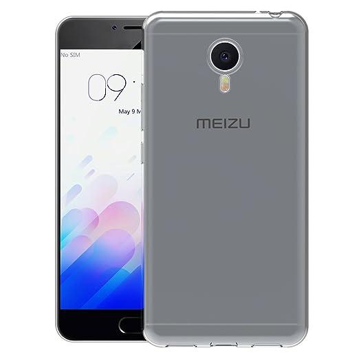AICEK Funda Meizu M3 Note, Meizu M3 Note Funda Transparente Gel Silicona Meizu M3 Note Premium Carcasa para Meizu M3 Note