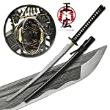 Masahiro - Folded Steel Samurai Sword - 1000+ Layers - Ronin
