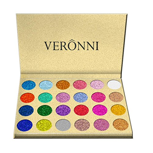 Eyeshadow Palette,Putars Women Sexy Fashion 24 Colors Shimme