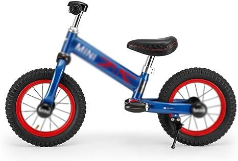 Ppy778 Bicicleta para niños niños Bicicleta Deslizante niño y niña Bicicleta de Equilibrio niño niños y Mujeres Bicicleta Deslizante Deslizante Coche (Color : Blue ...