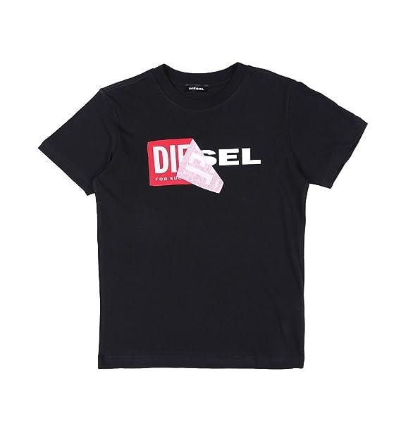 Diesel - Camiseta Niño Manga Corta TDiego (176-182)  Amazon.es  Ropa ... e0771df809694